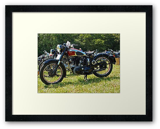 BSA M20/M21 by Willie Jackson
