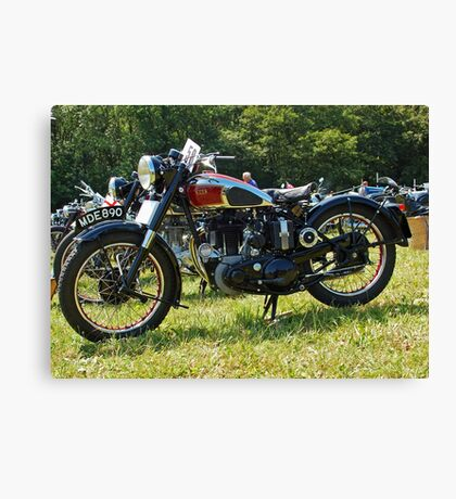 BSA M20/M21 Canvas Print