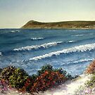 Spring Tide at Whitesands by Constance Widen