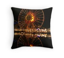 California aventure Throw Pillow