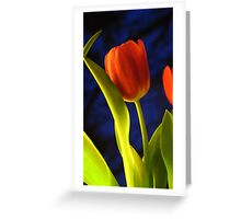 ~ Lean on Me ~ Greeting Card