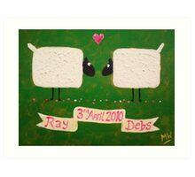 'Wedding Day' Art Print