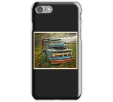 Old Blue Ford Truck iPhone Case/Skin