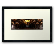 Bethesda Terrace. Central Park, Ny. Framed Print