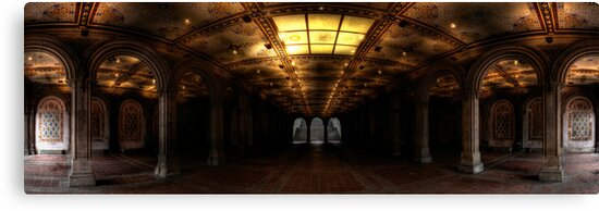 Bethesda Terrace. Central Park, Ny. by garyfoto