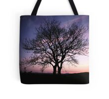 Two Trees embracing Tote Bag