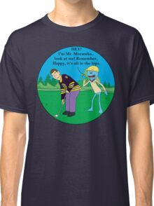 Mr. Meeseeks Happy Gilmore Parody Classic T-Shirt
