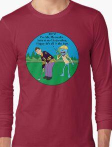 Mr. Meeseeks Happy Gilmore Parody Long Sleeve T-Shirt