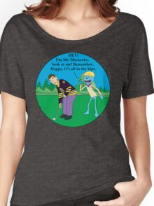 Mr. Meeseeks Happy Gilmore Parody Women's Relaxed Fit T-Shirt