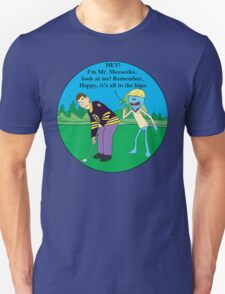 Mr. Meeseeks Happy Gilmore Parody Unisex T-Shirt