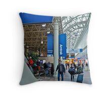 Washington DC - Union Station - Series - Passinger Waiting Areas © 2010 Throw Pillow