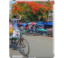 A rickshaw puller became photographers iPad Case/Skin