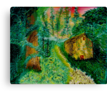 Reclaiming the Woods Canvas Print
