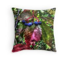 Colors of Early Fall Throw Pillow