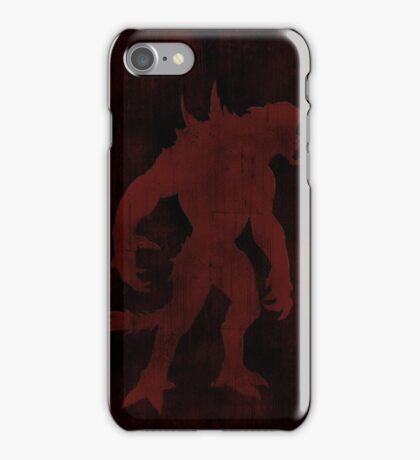 Evolve Goliath Gaming Poster iPhone Case/Skin
