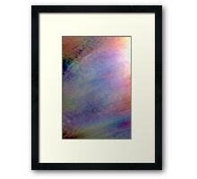 Irridescent Abstract Framed Print