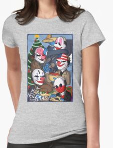 Merry Heistmas! Womens Fitted T-Shirt