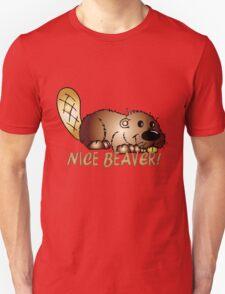 Nice Beaver T Shirt With Cartoon Beaver T-Shirt