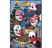 Merry Heistmas! Photographic Print