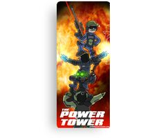 The Power Tower Canvas Print