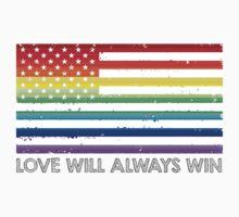 LOVE WINS, LOVE WILL ALWAYS WIN, #LOVEWINS Kids Clothes