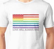 LOVE WINS, LOVE WILL ALWAYS WIN, #LOVEWINS Unisex T-Shirt
