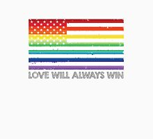 LOVE WINS, LOVE WILL ALWAYS WIN, #LOVEWINS Unisex T-Shirt