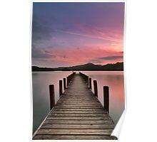 Lake Vision Number 1 Poster