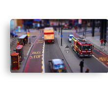 Toy Town London Canvas Print