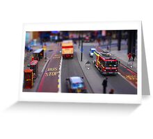 Toy Town London Greeting Card