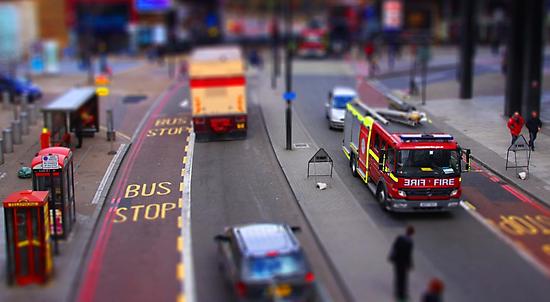 Toy Town London by G. Brennan
