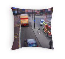 Toy Town London Throw Pillow