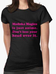 Madoka Magica Anime - Mami's Head in Pink T-Shirt