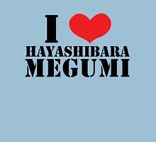 I Heart Hayashibara Megumi - White Womens Fitted T-Shirt