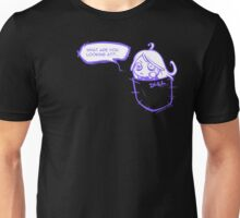 What are you looking at? - purple version Unisex T-Shirt
