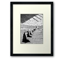 Up and/or down... Framed Print