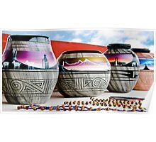 Navajo Pottery - Print Poster