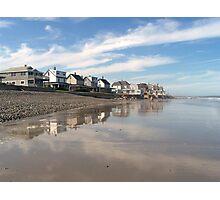 Seashore Neighborhood Photographic Print