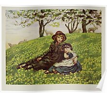 Kate Greenaway Collection 1905 0381 Brother and Sister Poster