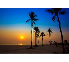 Bangladesh Sea-Beach Queen Kuakata Sun sets Photographic Print