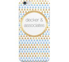DA logo and triangles iPhone Case/Skin