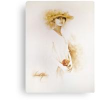 """Romantic"" Oil on Canvas Canvas Print"