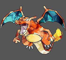 Awesome Charizard! by GrimulkinShirts