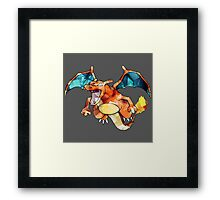 Awesome Charizard! Framed Print