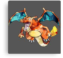 Awesome Charizard! Canvas Print