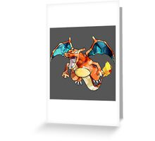 Awesome Charizard! Greeting Card