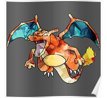 Awesome Charizard! Poster