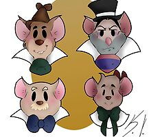 The Great Mouse Detective by Rozaliine