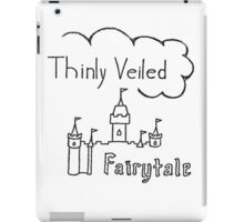 Thinly Veiled Fairy Tale (White) iPad Case/Skin