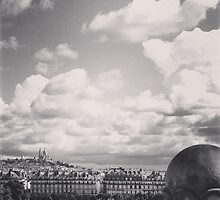 Paris Skyline from D'Orsay by mgaspard